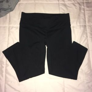 Black work out tights